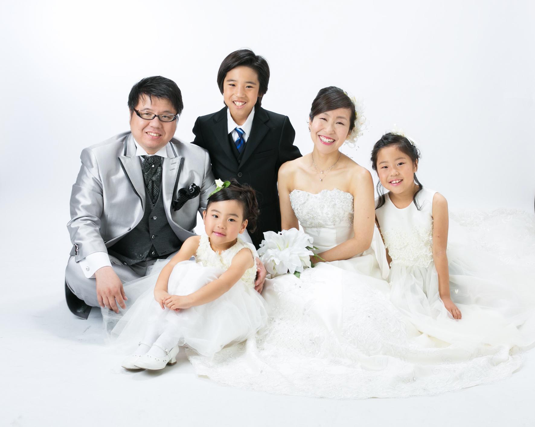 家族写真承っております